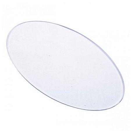 Base Acrílica Oval 14x8 cm - Russo Art