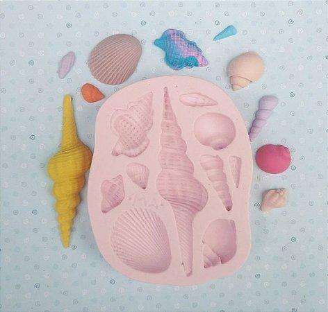 Molde Conchas N°1 - Marcela Arteira
