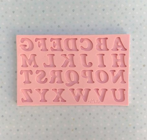 Molde Alfabeto N°2 - Marcela Arteira