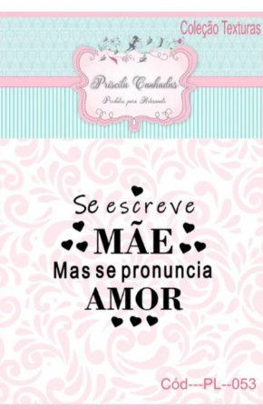 "Textura Borracha - ""Se Escreve Mãe/Se Pronuncia Amor"" PL053"