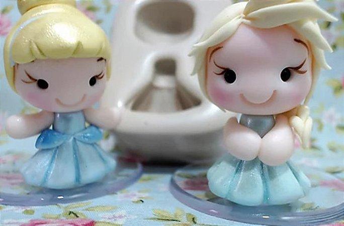 Molde Mini Princesinhas - Pri Canhadas
