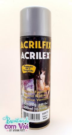Verniz Fixador Acrilex - Fosco