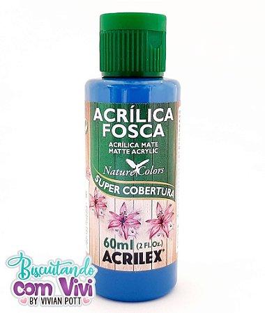 Tinta Acrílica Fosca Acrilex - Azul