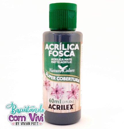 Tinta Acrílica Fosca Acrilex - Grafite