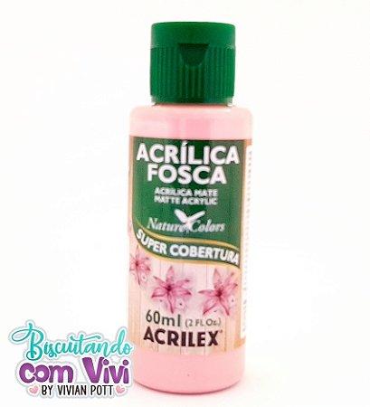 Tinta Acrílica Fosca Acrilex - Rosa