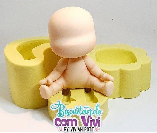 Molde Topinho Sentadinho da Gabi - BCV