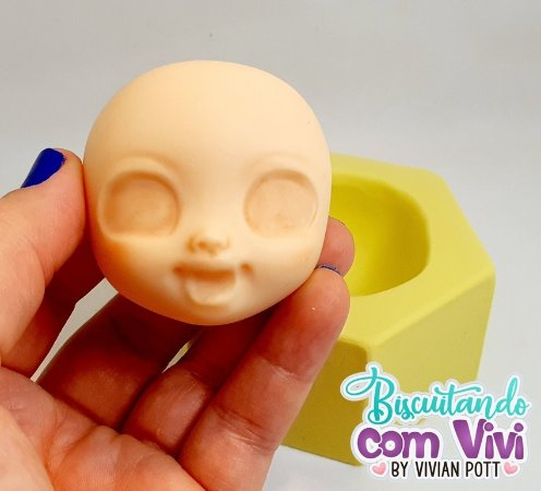 Molde Cabeça Doll Anne - BCV