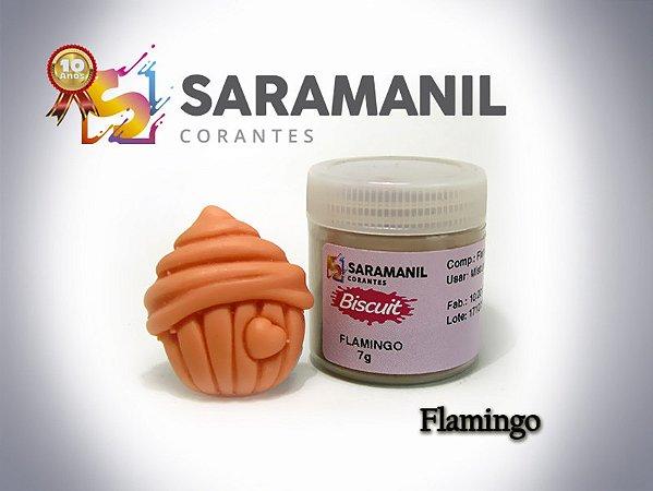 Corante em pó Flamingo - Saramanil