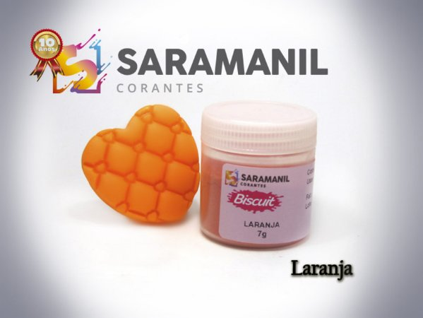 Corante em pó Laranja - Saramanil
