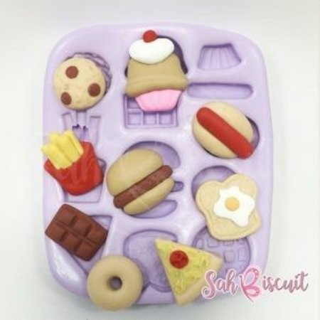 Molde de Silicone Delicinhas Mini - Sah Biscuit