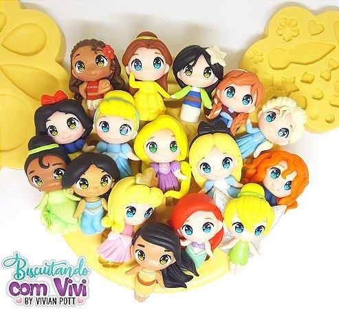 Molde Aplique Mini Toy - Princesas - BCV