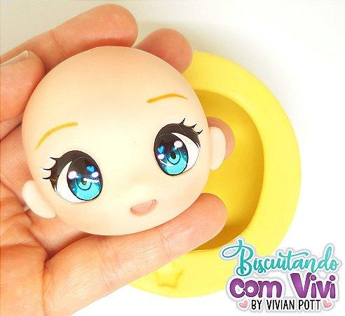 Molde Cabeça Chibi Candy - BCV