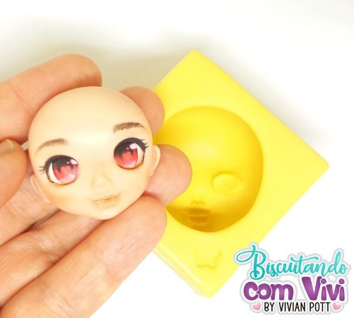 Molde Cabeça Doll Emily - BCV