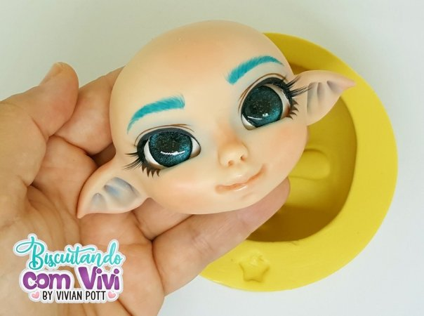 Molde Cabeça Doll Laura - BCV