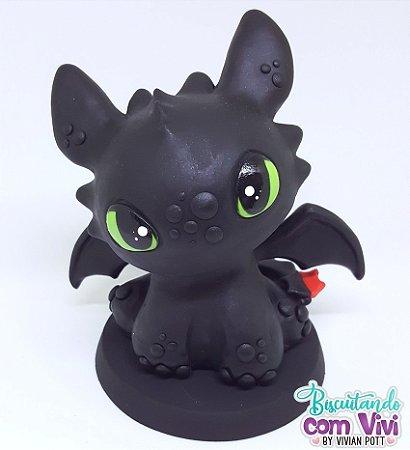 Molde Toy Dragott - Dragão Baby versão Vivi Pott