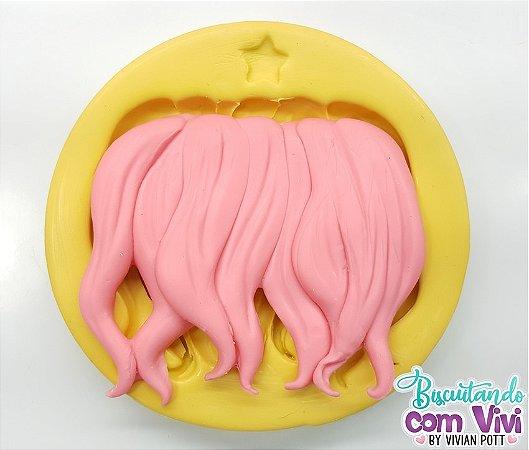 Molde de Cabelo - Modelo: Mega Hair Ondulado - BCV