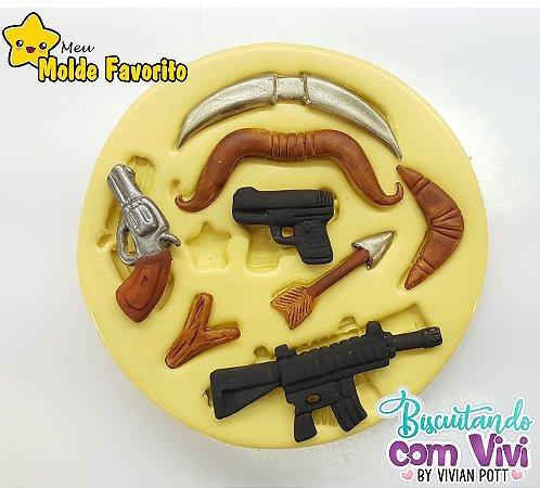Molde Armas - Tam P - BCV