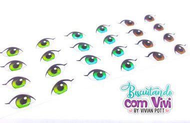 Olho Oriental - Resinado - Belas Neves