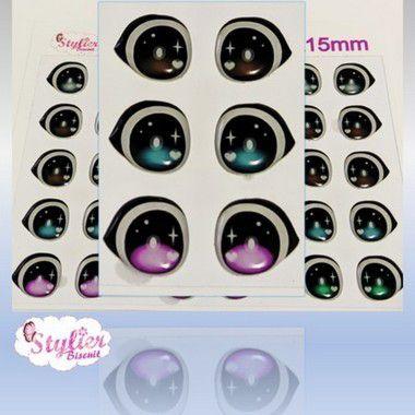 Olhos Resinados R070 - Stylier