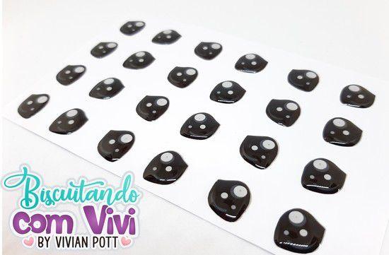 Olho Baby Sweet - Resinado - Belas Neves