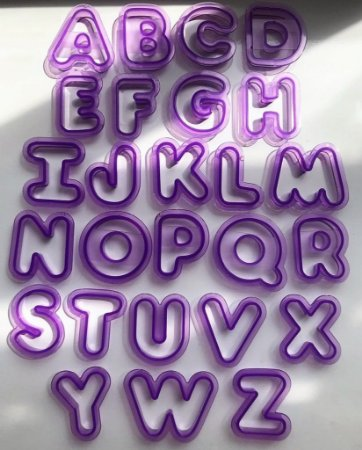 Kit Cortador de Letras com 6cm