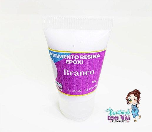 Pigmento Branco Opaco Res. Epóxi 25g - BCV