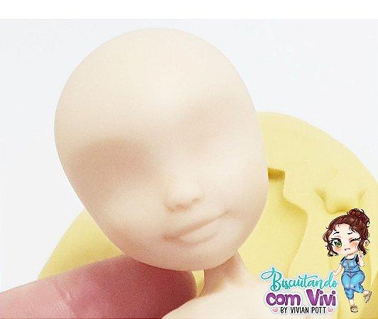 Molde Cabeça Pinup Candy -  BCV