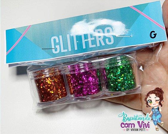 Glitters para Resina - BCV