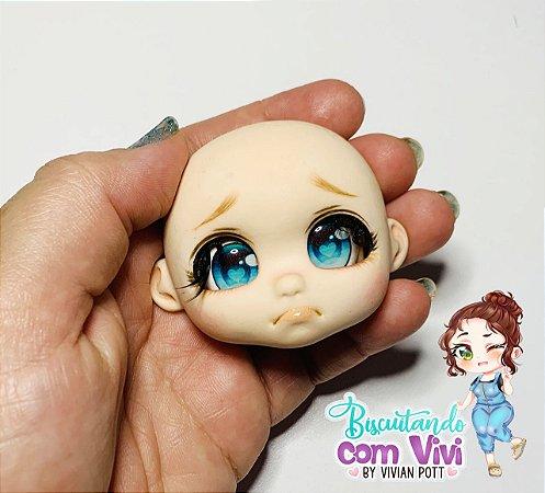 Molde Cabeça Doll Bru - BCV