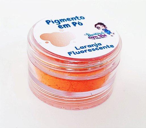 Pigmento em Pó para Resina - Laranja Fluorescente