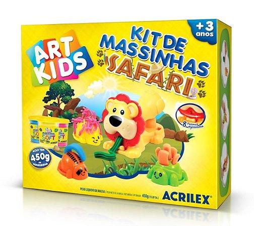 Kit de Massinhas Safari