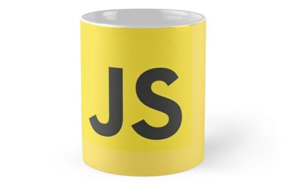 caneca ceramica JavaScript