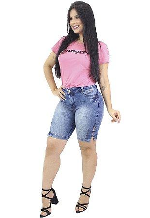 Bermuda Jeans Feminina Azul Rayox Anagrom Ref.3010
