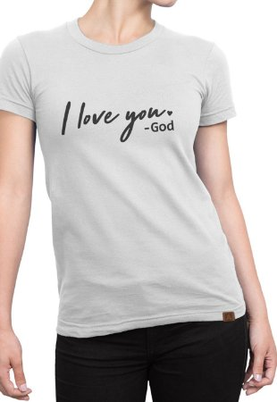 T-shirt Moda Evangélica Anagrom Branca Ref.C002