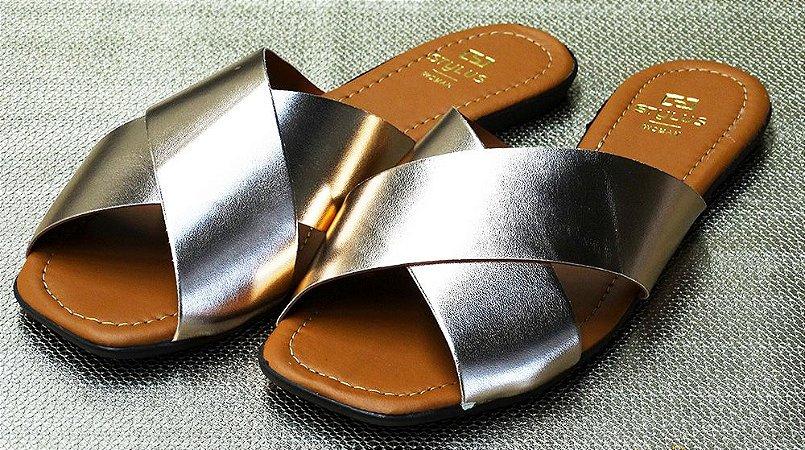 Rasteira fabricação própria bq-02 ouro