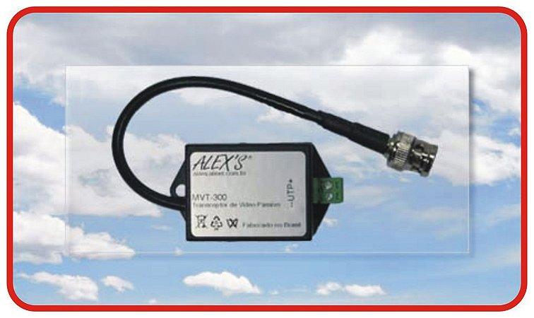 MVT-300P Conversor de Vídeo passivo UTP, CVBS com Filtro para Loop de Terra.