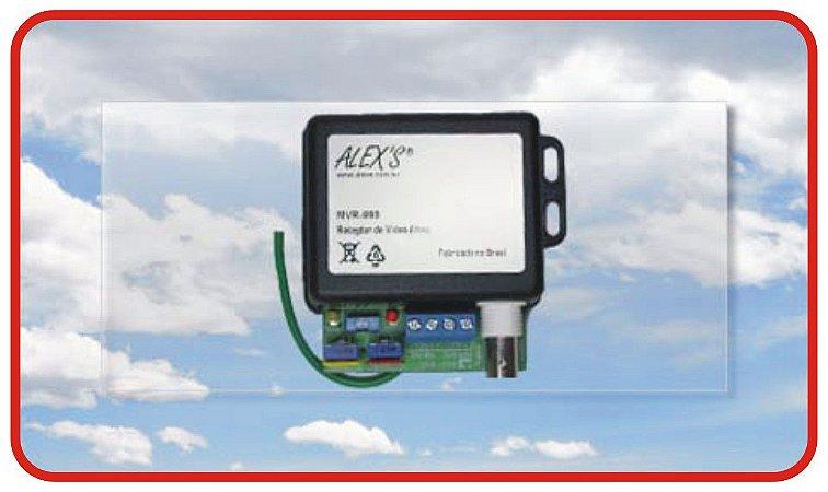 MVR-999A Receptor de Vídeo ativo UTP, CVBS com Filtro para Loop de Terra.