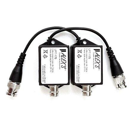 LPT-175 Filtro para Loop de terra para CFTV compatível com CVBS, HD, Full HD e 4K Multiprotocolos.
