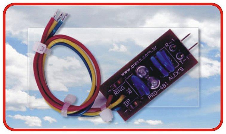 PRO-481 Protetor de surtos elétricos para linha telefônica Fixa