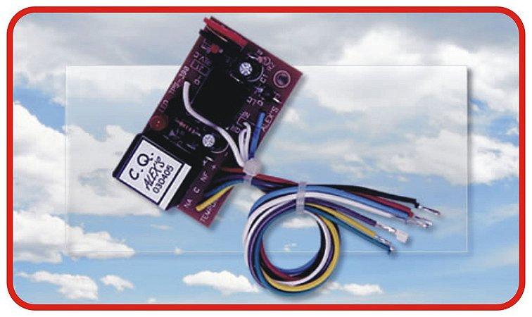 TPS-390 Temporizador universal de 3 canais com ajuste de tempo.