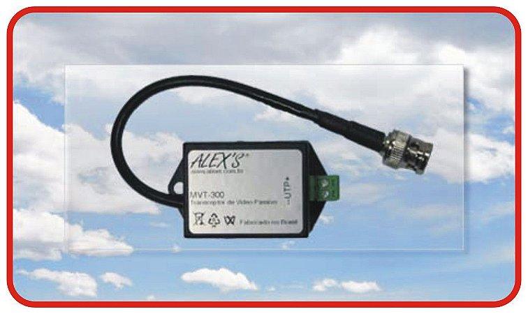 MVT-300HD Conversor de Vídeo passivo UTP, HD com Filtro para Loop de Terra.