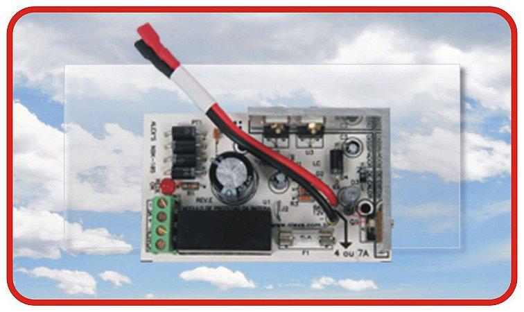 NBK-10524V Placa para Carregador de Bateria 24V/1,5A com Módulo de proteção das Baterias.