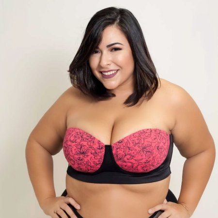 Novo Tomara que Caia Frutilly Arabesco Plus Size