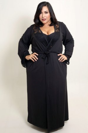 Robe Longo Plus Size
