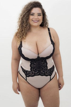 Conjunto Croped  Diva Plus Size