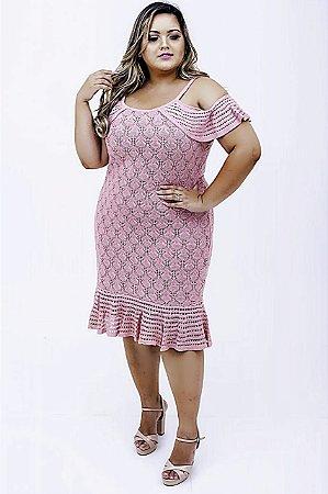 Vestido Tricô Alessandra Plus Size