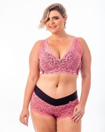 Top Croped Sissia Rose Plus Size