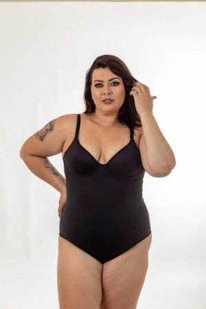 Modelador Com Bojo Space Plus Size