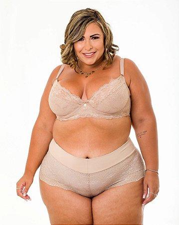 Sutiã Isadora Nude Sem Bojo Plus Size