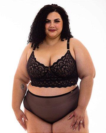 Croped Isadora sem Bojo Plus Size